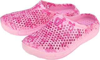 GreaterGood Pink Ribbon Clogs Pink Size: 6