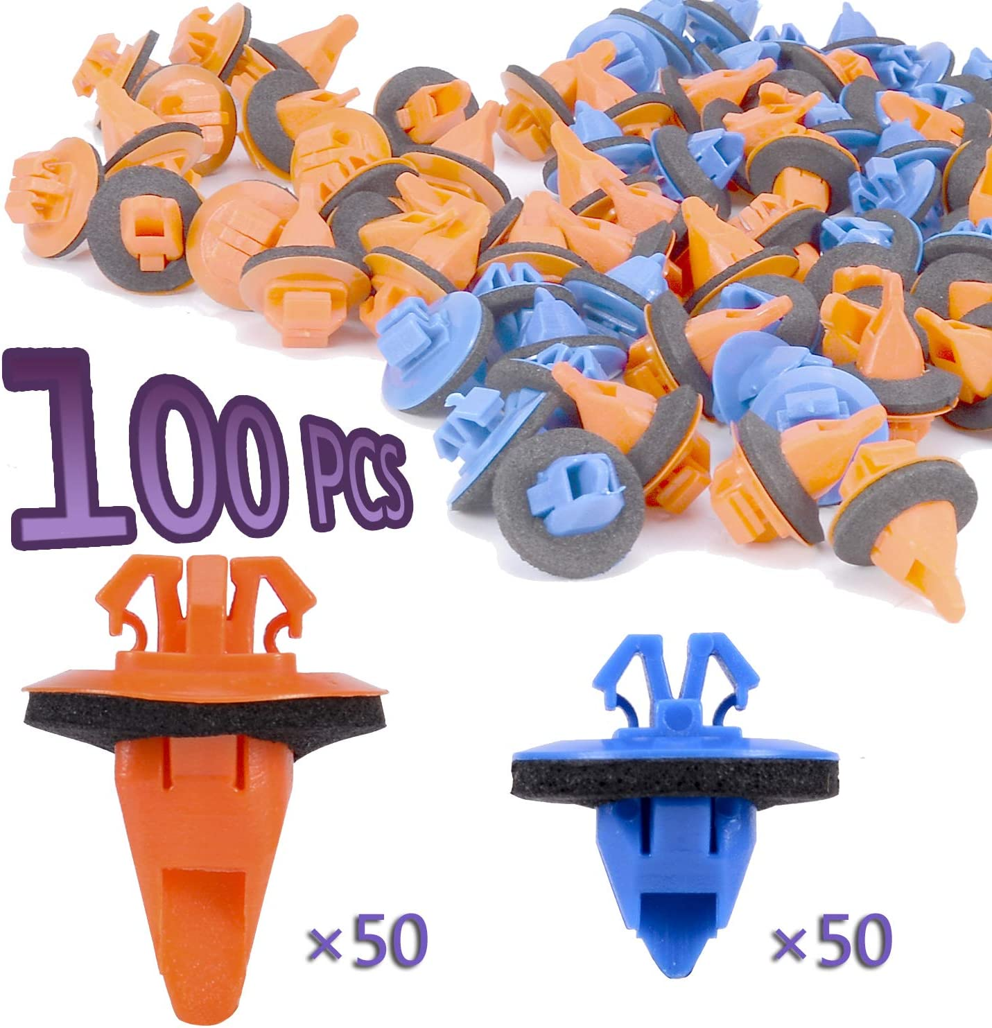 Febrytold 100 Pcs Fender Flare Clip for Tacom Toyota Kit Sales of SALE items from Ranking TOP20 new works 4Runner