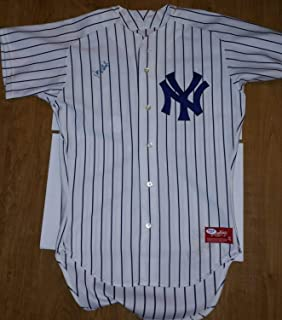 Don Mattingly Autographed Signed Auto PSA/DNA Rawlings Yankees Jersey Authentic Autograph