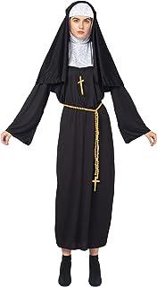 Spooktacular Creations Konuna dorosły kostium na Halloween dla kobiet z nawykiem dla nun