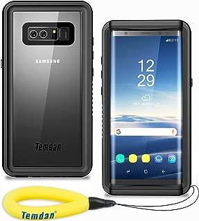 Temdan Samsung Galaxy Note 8 Waterproof Case, Built-in Screen Protector Shockproof Snowproof Case with Float Strap IP68 Waterproof Case for Samsung Galaxy Note 8