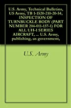 U.S. Army, Technical Bulletins, US Army, TB 1-1520-210-20-54, INSPECTION OF TURNBUCKLE BODY (PART NUMBER 204-011-137-1) FOR ALL UH-1 SERIES AIRCRAFT, military ... U.S. Army, publishing, us government,