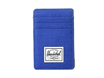 Herschel Supply Co. Raven RFID (Monaco Blue Crosshatch) Wallet Handbags