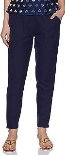 Jaipur Kurti Women's Solid Regular Trouser