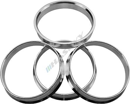 76.9-72.6 4 Anelli di centraggio realizzato in alluminio Aluminium in varie Taglie sulla Selezione 72.6-66.6