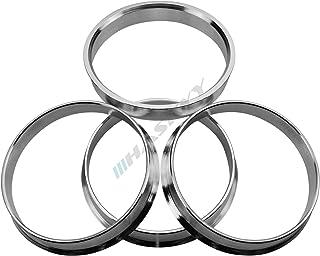 Haskyy 4 centros de aluminio I 66,5-57,1 aluminio I anodizado ROJO