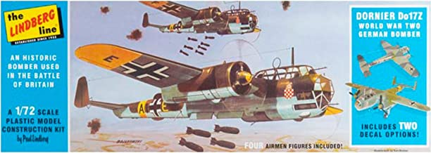 Lindberg Models LN414 1:72 Scale Dornier Do17Z German Bomber Plastic Model