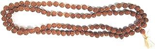Kheteshwar Rudraksh And Astrology Rudraksha Mart 108+1 Beads Rudraksha Mala (6 mm)