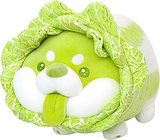 に 劉JUNST. ニューアニメカワイイぬいぐるみ枕ぬいぐるみ野菜genieキャベツ犬豪華な人形かわいい犬の枕女の子の誕生日ギフト部屋の装飾 (Color : Prone position, Height : 22cm)