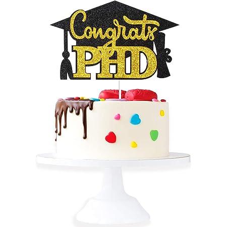 Personnalisé-LT1292 Graduation cake topper Mortier Diplômé cake topper