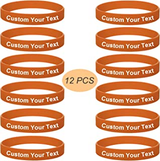 7fc6b3c35785 Amazon.es: Pulseras De Goma - Naranja