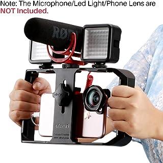 Ulanzi U Rig Pro Smartphone Video Rig, iPhone Filmmaking Case, Phone Video Stabilizer Grip Tripod Mount for Videomaker Fil...