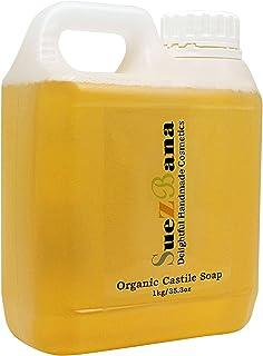 Jabón líquido orgánico castellano Suezbana, 1kg