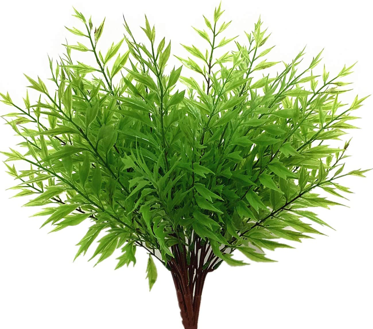 Artificial Shrubs Max 57% OFF Bushes CATTREE Plastic Fern Plants Grass Fake Bombing free shipping