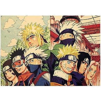 8 Posters HQ Naruto Modèle 2