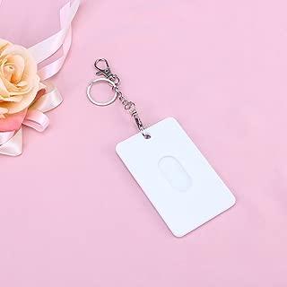 TOYANDONA 1pcs Card Holder Creative Cartoon Fashion Plastic Card Holder Protectors Case for Subway ID Card Bus
