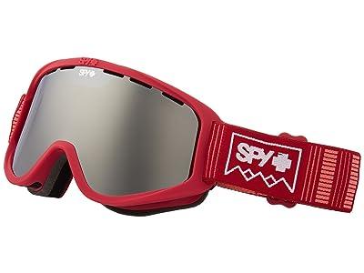 Spy Optic Woot (Deep Winter Blush/Bronze/Silver Sepctra/Persimmon) Goggles