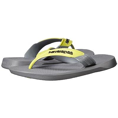 Havaianas Dynamic Flip Flops (Steel Grey/Grey) Men