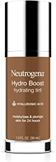 Neutrogena Hydro Boost Hydrating Tint with Hyaluronic Acid, Lightweight Water Gel Formula, Moisturizing, Oil-Free & Non-Co...