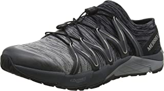 Bare Access Flex Knit Mens Trail Running Sneakers/Shoes-Grey-7.5