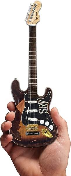 Guitar STEVIE RAY VAUGHAN Licensed Fender Strat SRV Number One Mini Guitar