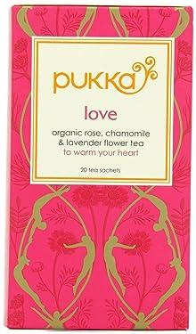 (2 unidades) – Pukka Hierbas – Love Tea   20 bolsitas   2 paquetes