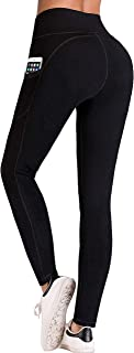 IUGA High Waist Yoga Pants with Pockets, Tummy Control, Workout Pants for Women 4 Way Stretch...