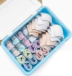 QWEA Panier Rangement,casier Rangement,boîtes de Rangement est Fait de matériau PP respectueux de l'environnement,divisé e...