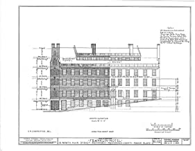 Historic Pictoric Structural Drawing HABS RI,4-PROV,27- (Sheet 4 of 7) - Franklin House Hotel, 32 Market Square, Providence, Providence County, RI 55in x 44in