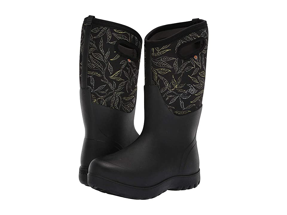 Bogs Neo-Classic Tall Spring Leaf (Black Multi) Women