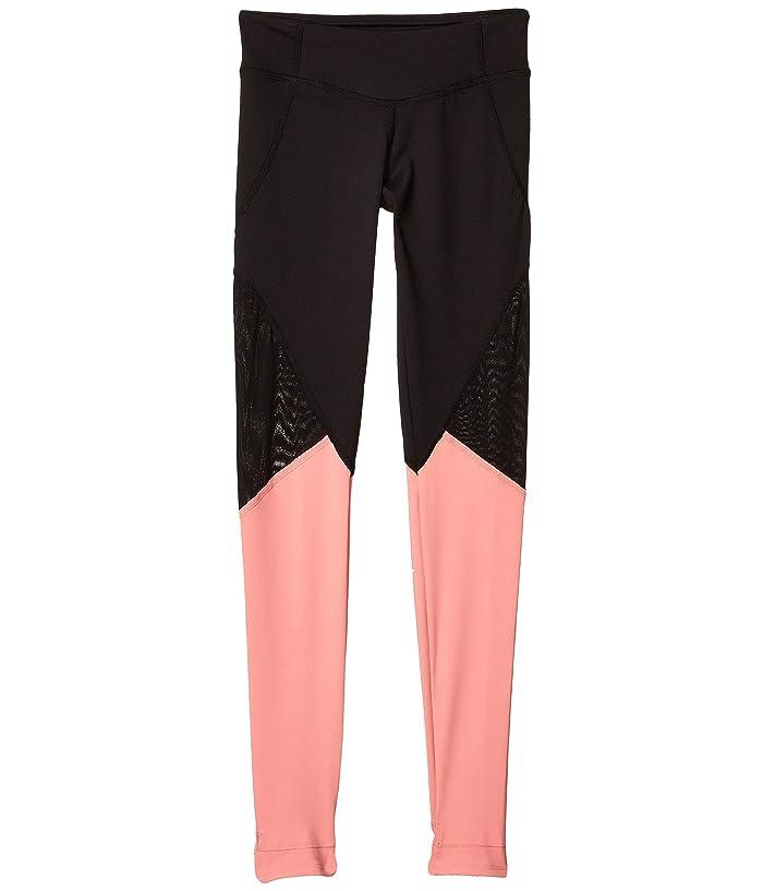Bloch Kids  Full-Length Leggings (Little Kids/Big Kids) (Coral) Girls Casual Pants