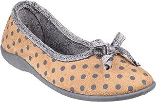 comprar comparacion Fleet & Foster - Zapatillas de estar por casa estilo bailarina modelo Toulon para mujer