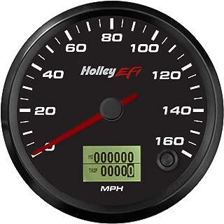 Holley EFI 553-123 Holley EFI GPS Speedometer 3 3/8 in. GPS Speedometer w/Digital Odometer 0-160 mph. Black Face Incl. GPS Antenna Holley EFI GPS Speedometer