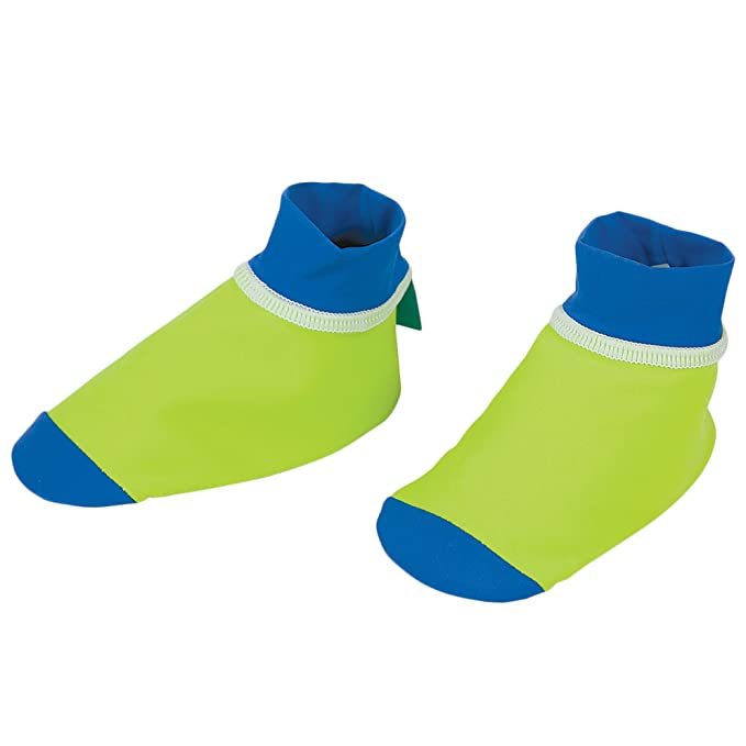 Sun Smarties Unisex Baby UPF 50 Non-Skid Sand and Water Socks X-Small Navy Blue