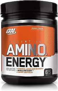 Optimum Nutrition Amino Energy Orange Anytime Energy and Amino Acids, 65 Servings