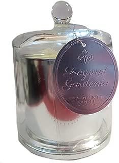 motivo Stile Vintage Mucca con scritta General Store-Bottiglia in vetro con candela profumata alla vaniglia