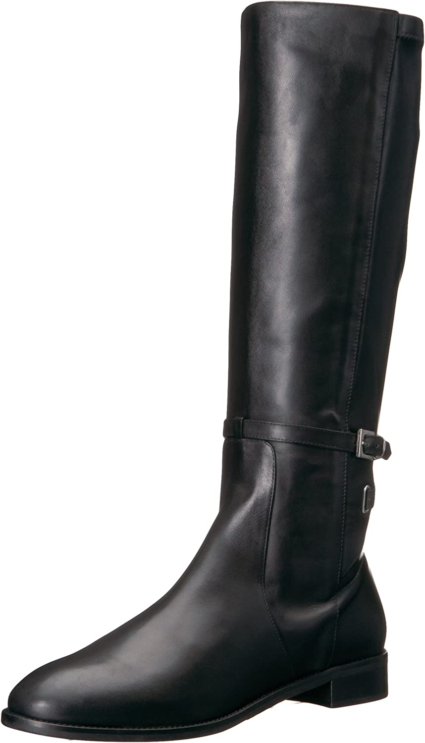 Charles David Women's Royce Equestrian Boot, Black, 38 Medium EU (7.5,8,8.5 US)