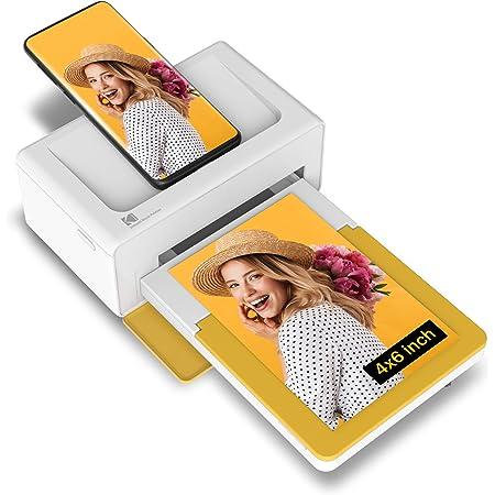 KODAK PD460 - Imprimante Photo 10x15 cm - Bluetooth & Docking - Blanc & Jaune