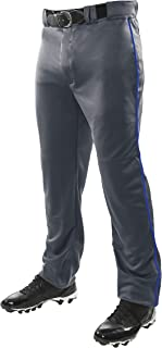 CHAMPRO Mens Sports Adult Triple Crown Open Bottom Piped Pants BP91UA-P, Unisex-Adult, Triple Crown Open Bottom Pant with ...