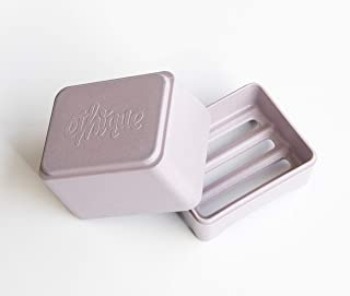 Ethique Eco-Friendly in-Shower Storage Container, Lilac – Made with Bamboo &..