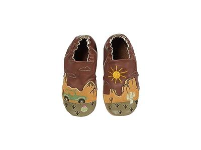 Robeez Indio Soft Sole (Infant/Toddler) (Brown) Boy