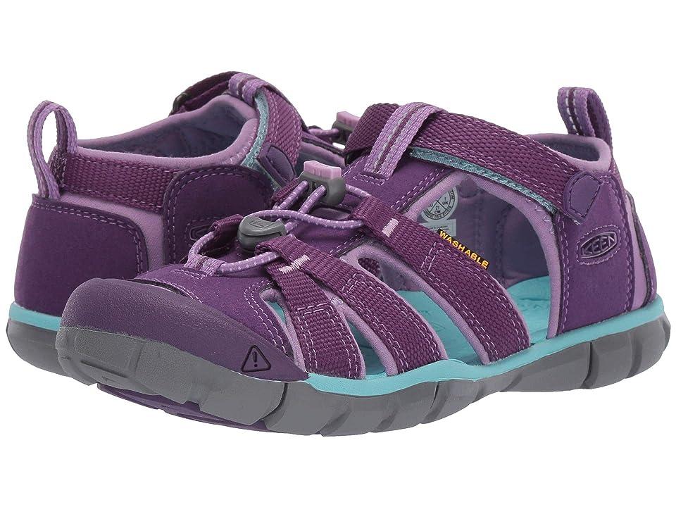 Keen Kids Seacamp II CNX (Little Kid/Big Kid) (Majesty/Tibetan Stone) Girls Shoes