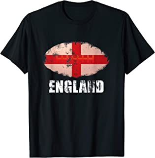 Distressed England Rugby Shirt The Lions