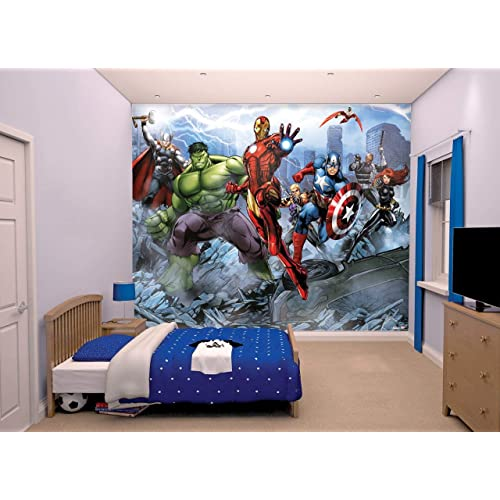 Avengers Wallpaper: Amazon co uk