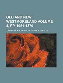 Old and New Westmoreland (Volume 1)