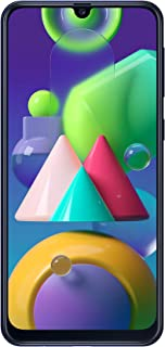 SAMSUNG Galaxy M21 Dual SIM 64GB 4GB RAM 4G LTE (UAE Version) - Blue - 1 year local brand warranty