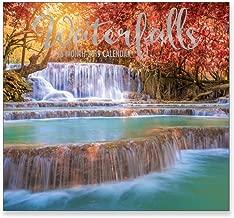 16 Month Wall Calendar 2019: Waterfalls - Each Month Displays Full-Color Photograph. September 2018 to December 2019 Planning Calendar