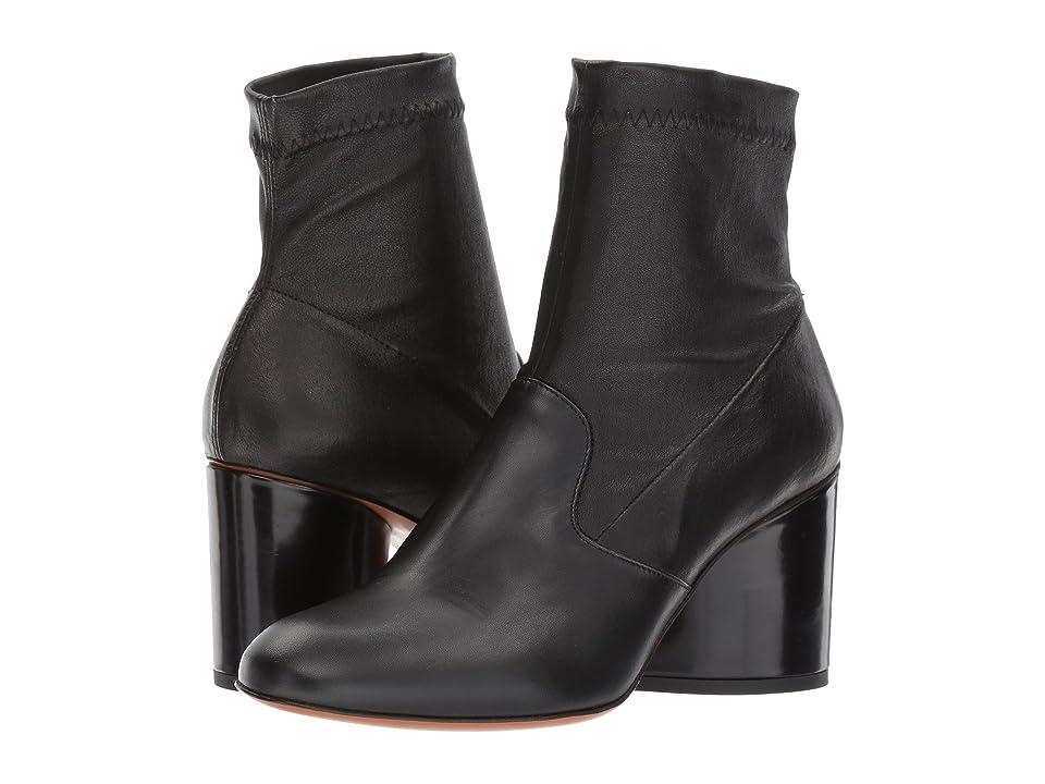 Clergerie Koss (Black Leather Calf) Women