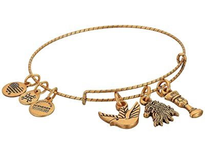 Alex and Ani Game of Thrones, Lannister Charm Bangle (Rafaelian Gold) Bracelet