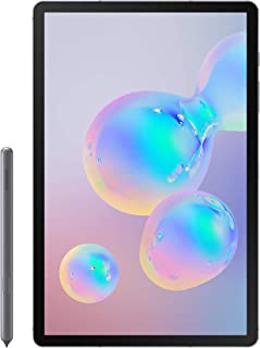 "Samsung Galaxy Tab S6 - 10.5"" SuperAMOLED WiFi 6GB RAM 128GB (UAE Version) - Mountain Gray"